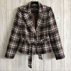 Jackets & Blazers - THX Thank Collection Belted Blazer Coat si…
